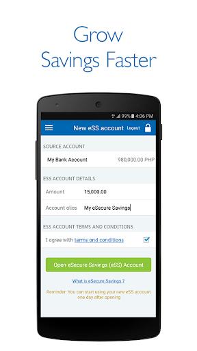 Security Bank Mobile App 6 تصوير الشاشة