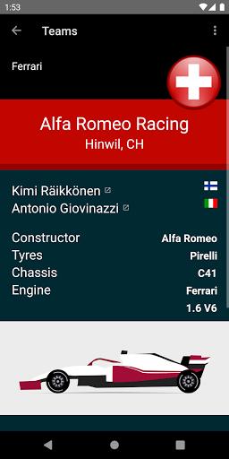 Racing Calendar 2021 screenshot 5