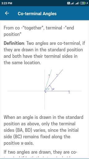 Trigonometry Mathematics screenshot 4