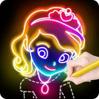 Learn to Draw Princess on 9Apps