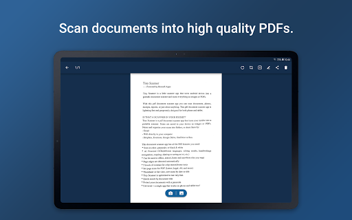 Tiny Scanner - PDF Scanner App screenshot 9