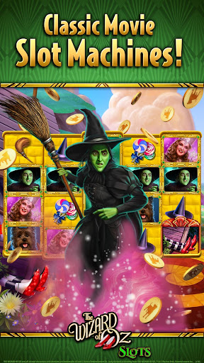 Wizard of OZ Free Slots Casino Games 3 تصوير الشاشة