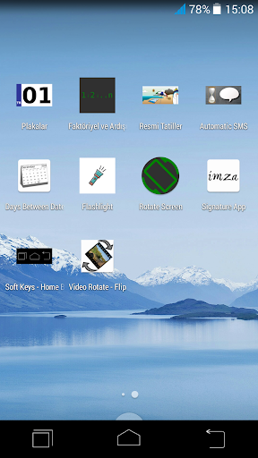 Soft Keys - Home Back Button screenshot 2