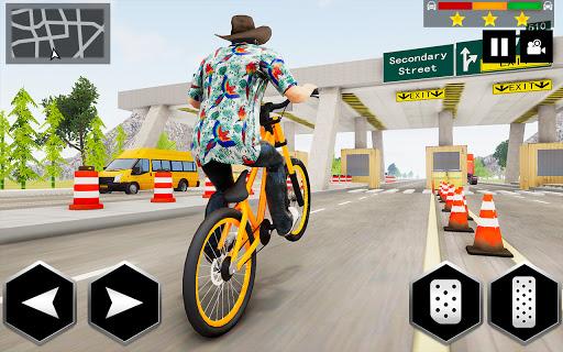 Mountain Bike Simulator 3D screenshot 2