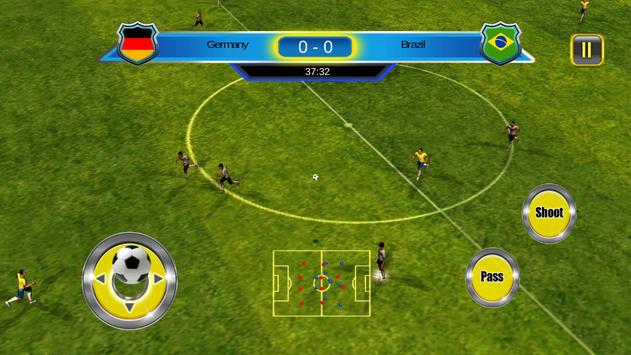 Soccer World Cup 2014 screenshot 14