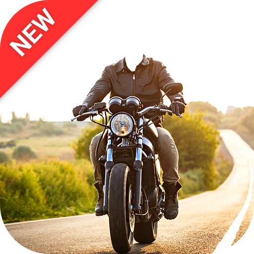 Man Bike Rider Photo Editor - photo frame icon