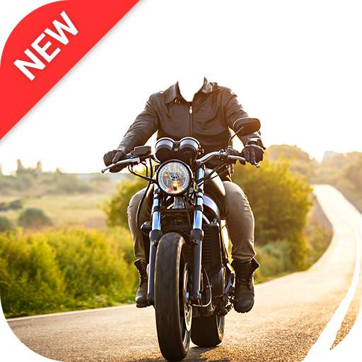 Man Bike Rider Photo Editor - photo frame