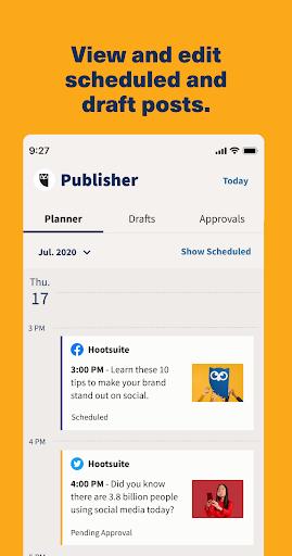 Hootsuite: Schedule Posts for Twitter & Instagram 4 تصوير الشاشة