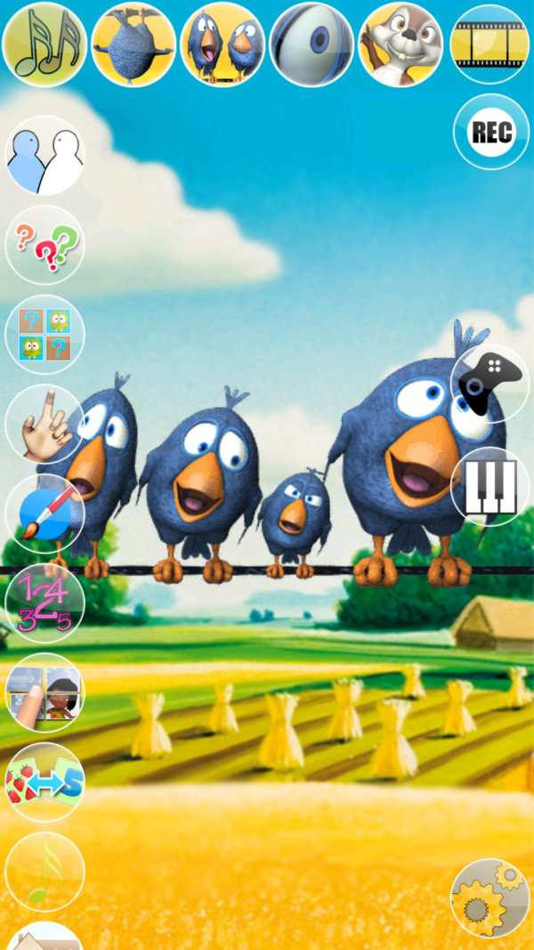 Talking Birds On A Wire screenshot 1
