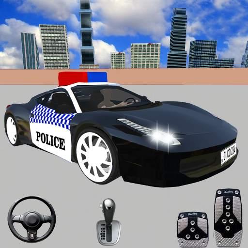 Spooky Police Car Parking Games - Car Games 2020