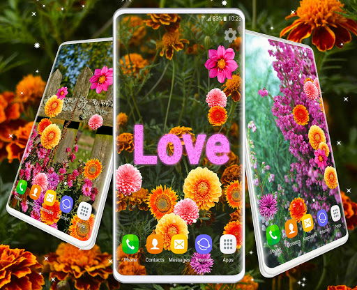 Autumn Flowers 4K Live Wallpaper ❤️ Forest Themes скриншот 7