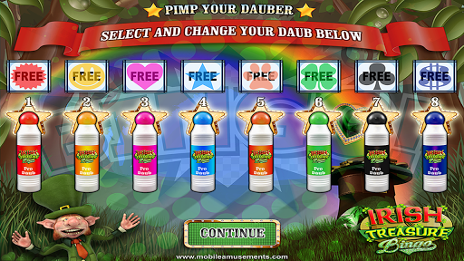 Irish Treasure Rainbow Bingo FREE screenshot 9