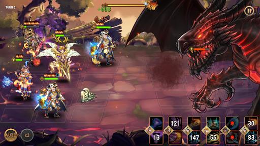 Fantasy League: Strategi RPG berbasis giliran screenshot 3