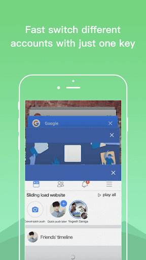 Dual Space - Multiple Accounts & App Cloner screenshot 6