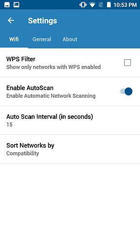 WIFI WPS WPA TESTER screenshot 4