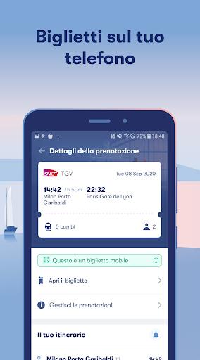 Omio: Compra Biglietti Treni, Bus e Voli in Europa screenshot 5