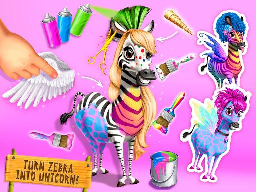 Jungle Animal Hair Salon 2 - Tropical Beauty Salon स्क्रीनशॉट 16