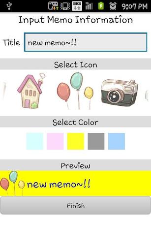 Cute memo screenshot 6