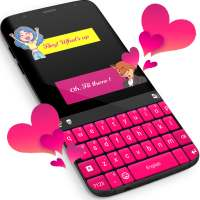 Pink Keyboard For WhatsApp on APKTom