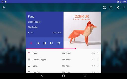 Shuttle Music Player screenshot 8