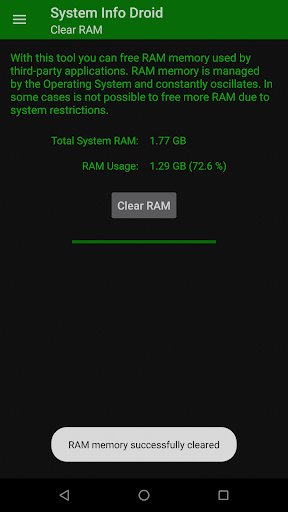 System Info Droid (Info, Tools and Benchmark) screenshot 5