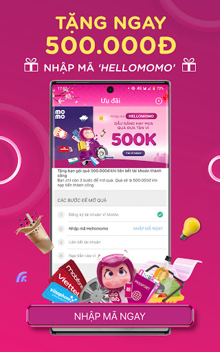 MoMo: Chuyển tiền & Thanh toán screenshot 2