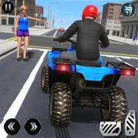 ATV Quad City Bike Simulator 2020: Game Taksi on 9Apps