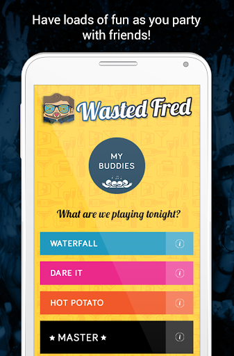 Drinking games by Wasted Fred screenshot 1
