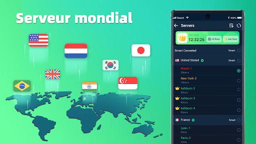 XY VPN - Gratuit, sécurisé, débloquer, super screenshot 4