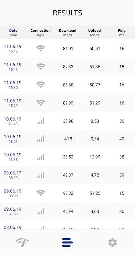 Speed Test Light 5G / 4G LTE / WiFi screenshot 4