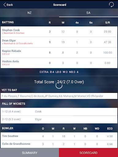 Cricket Live Score & Schedule 11 تصوير الشاشة