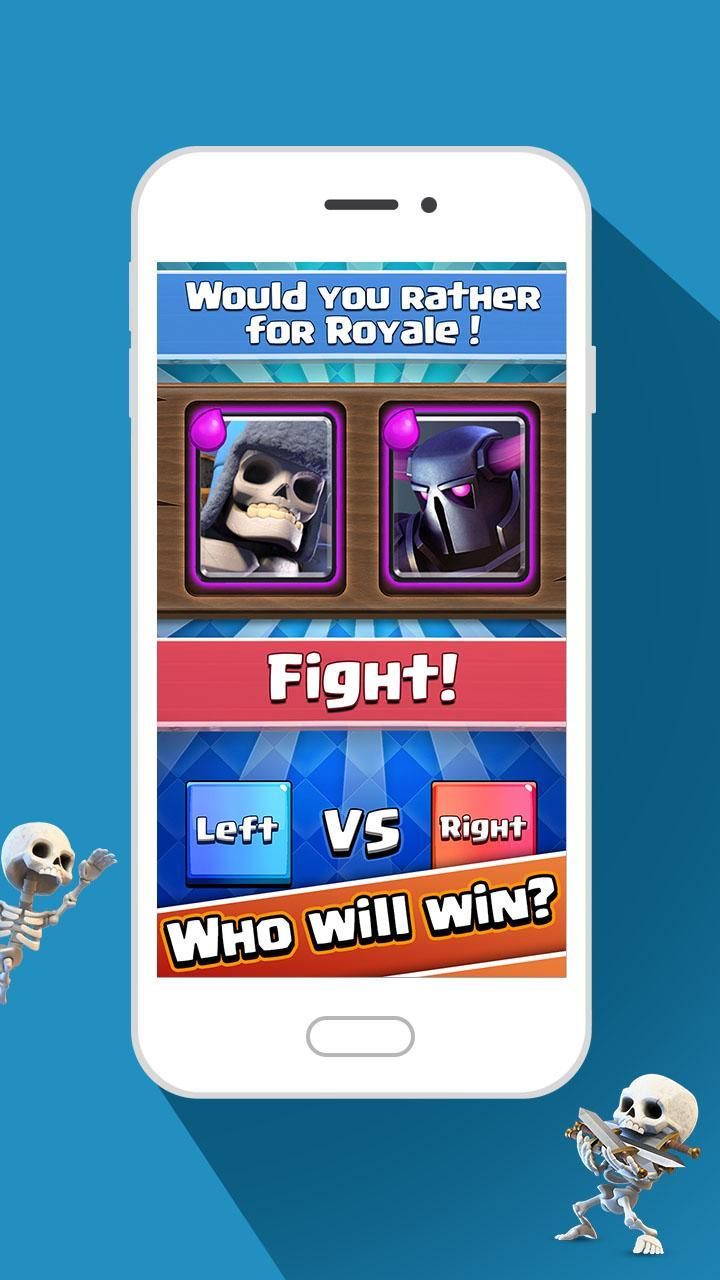 Would You Rather For Royale! 2 تصوير الشاشة