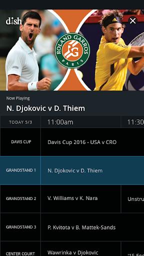 Tennis Channel 2 تصوير الشاشة