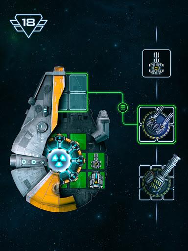 Space Arena: Build a spaceship & fight 1 تصوير الشاشة