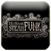 3D My Name Steampunk Fonts LWP on 9Apps