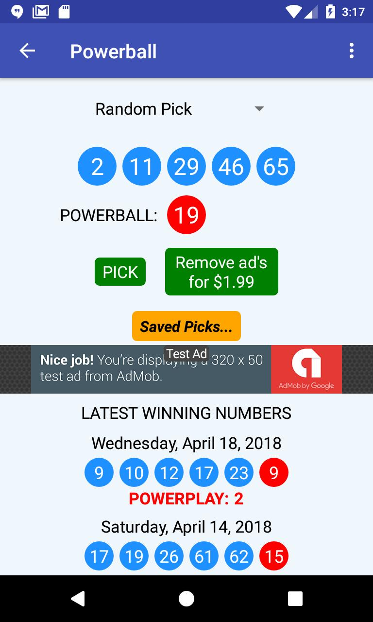 U-Pick Lotto screenshot 6