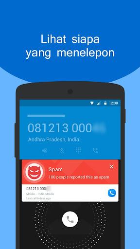 Caller ID - Layar Panggilan & Pemblokir Panggilan screenshot 1