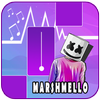 Marshmello - Piano Tiles Song أيقونة