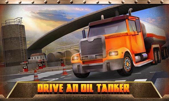 Oil Transport Truck 2016 screenshot 1