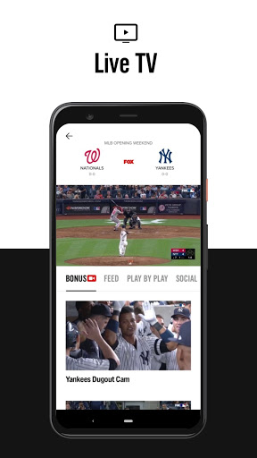 FOX Sports: Latest Stories, Scores & Events 4 تصوير الشاشة