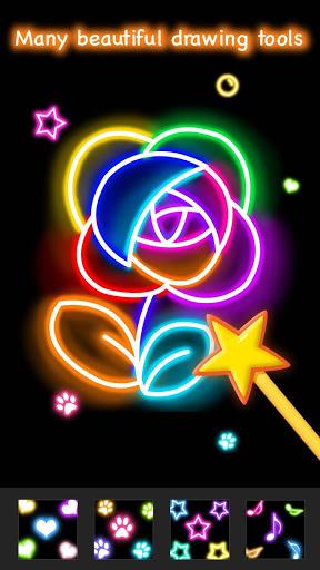Learn To Draw Glow Flower скриншот 5