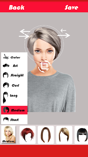 Change Hairstyle screenshot 3