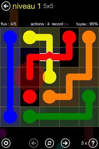 Flow Free: Bridges screenshot 1