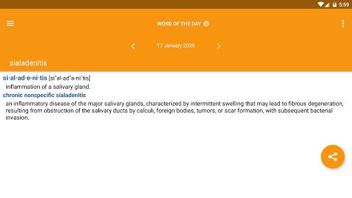 Dorland's Medical Dictionary 11 تصوير الشاشة