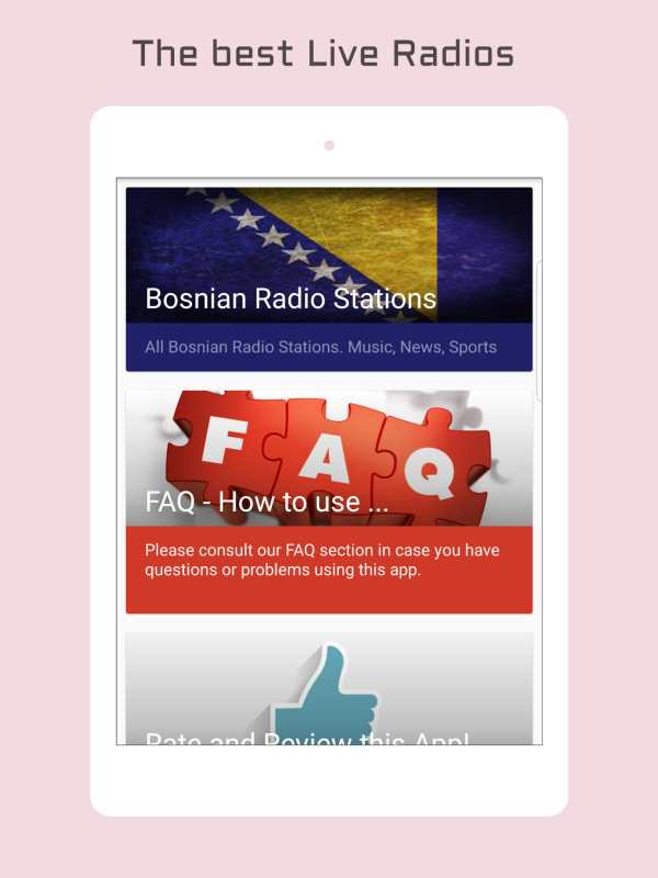 Bosnia Radio Music & News screenshot 5