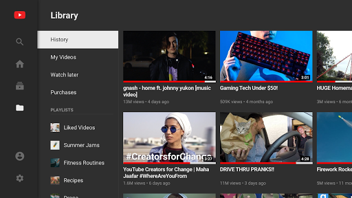 YouTube for Android TV screenshot 3