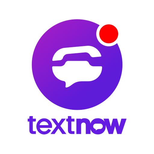 TextNow: Free Texting & Calling App أيقونة