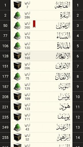 القرآن الكريم كامل بدون انترنت 5 تصوير الشاشة