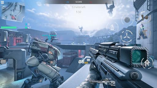 Infinity Ops: Online FPS Cyberpunk Shooter स्क्रीनशॉट 7