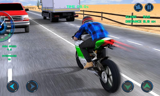 Moto Traffic Race 7 تصوير الشاشة